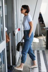 Katie Holmes - At JFK Airport 5/7/18