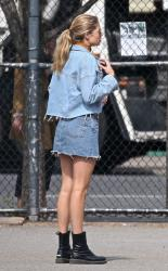 Doutzen Kroes - At the park in NYC 5/7/18