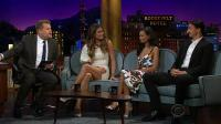 Heidi Klum & Thandie Newton @ The late Late Show with James Corden | May 9 2018
