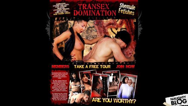 TranSexDomination.com - SITERIP