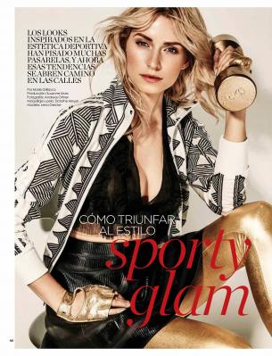 Lena Gercke - Vanidades Magazine ( Chile) May 2018