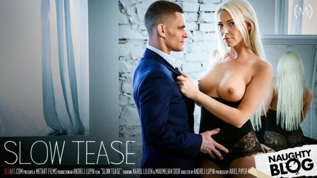 Sex Art - Karol Lilien: Slow Tease (2018/HD) [OPENLOAD]