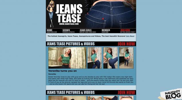 JeansTease.com - SITERIP