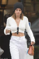 Sofia Richie - Getting coffee in Calabasas 5/1/18