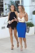 Chloe Goodman -                     Marbella Spain May 25th 2018 With Older Sister Lauryn.