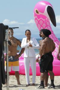 Melanie Brown - the Today Show hosted by Kathie Gifford & Hoda at Venice Beach (5/26/18)