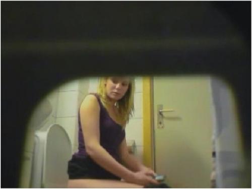 Мохнатая киска скрытая камера #1