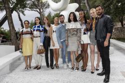 Emma Stone - Louis Vuitton 2019 Cruise Collection in Saint Paul de Vence 5/28/18