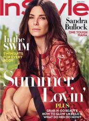 Sandra Bullock - InStyle US June 2018