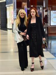 Lindsay Lohan - Out for dinner in NYC 4/28/18