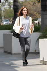 Lucy Hale - Out in Pasadena 4/28/18