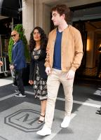 Salma Hayek - Leaving Her Hotel In NYC (5/5/18)